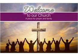 Welcome to our Church Visitor Card (Pkg of 100)