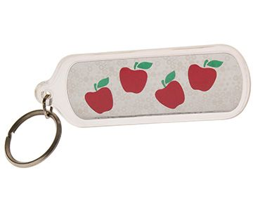 Teacher Keychain Back