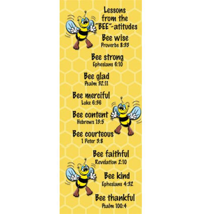 Beatitudes and Bible Quotes Bookmark (Pkg of 25)