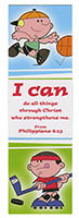 I Can Do All Things Through Christ Bookmarks (Pkg of 25)