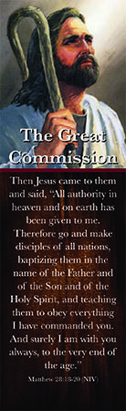 The Great Commission Bookmark (Pkg of 25)