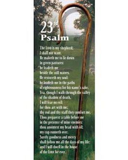 Psalm 23 Bookmark (Pkg of 25)