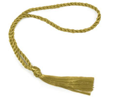 Gold Bookmark Tassels
