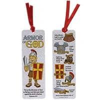 Laminated Armor of God Bookmark