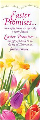 Easter Bookmarks - Easter Promises… (Pkg of 25)