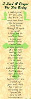 I Said A Prayer Bookmark (Pkg of 12)