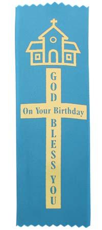 Birthday Ribbons Bless, Prayer (Pkg of 10)