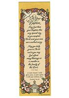 Baptism Bookmarks<br>(Pkg of 12)