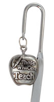 3698 Teachers Apple Care Gift Bookmark