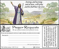 Prayer Request Card Bookmark. When the Spirit Moves Me. Prayer request card bookmark style 2 sided. 2 1/2 x 6 card stock.