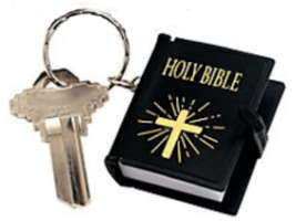 Mini Holy Bible Keychain