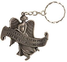Guardian Angel Hear My Prayer Keychain