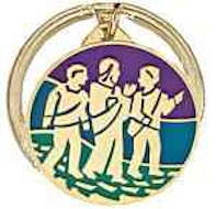 Walk to Emmaus Key Chain