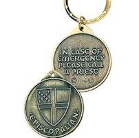 Episcopalian Identity Keytag