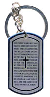 Lord's Prayer Key Chain, Key Tag