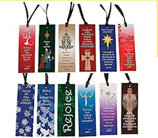 Christmas Religious Bookmark Assortment