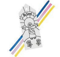 'He Lives' Color It Yourself Bookmarks Kit (Pkg of 12)