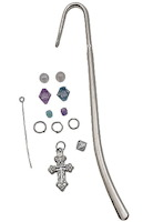 Silver Cross Metal Bookmark Kits