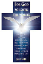 For God so loved the world bookmark (Pkg of 25)