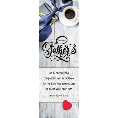 Happy Father's Day - Bookmark (Pkg of 25)
