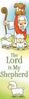 The Lord Is My Shepherd Psalm 23 Bookmark (Pkg of 25)
