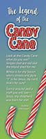 Christmas Bookmark The Legend of the Candy Cane