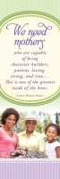 Mothers Day Bookmark - We Need Mothers