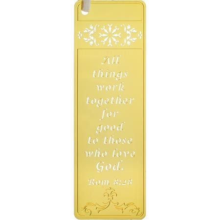 All Things Work Together Bookmark