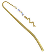 Footprints in the Sand Crook Staff Bookmark