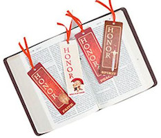 Prayer Warrior Bookmarks w Ribbon Christian