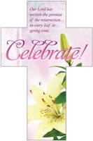 Celebrate! Easter Cross Bookmark - Pk of 25