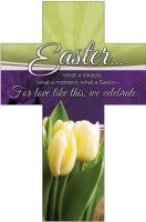 Easter Cross Bookmark - For Love like this