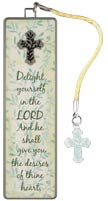 Delight Yourself in the Lord Psalm 37:4 Metal Bookmark