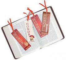Prayer Warrior Bookmarks with Ribbon