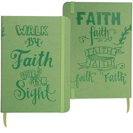 walk by faith Notebook