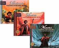 Kids Bible Story Hardbound Books Moses