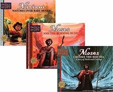 Kids Bible Story Hardbound Books Moses