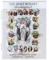 The Holy Rosary Illustrated Booklet  Deluxe