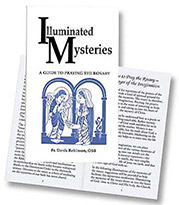 Illuminated Mysteries Guide to Praying Rosary Booklet