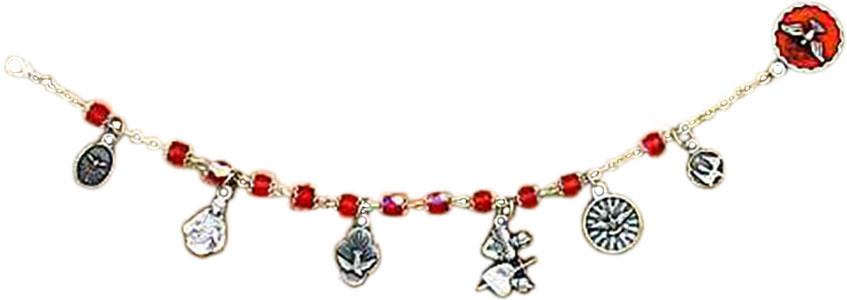 Holy Spirit Charm Italian Bracelet