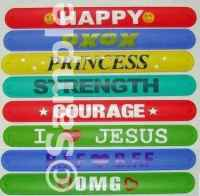 The Slap Bracelets Silicone
