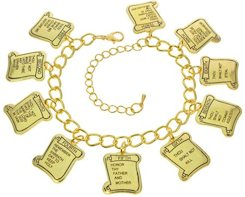 10 Commandments Bracelet - Gold