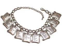 10 Commandments Bracelet - Silver