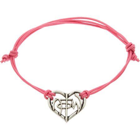 Not of This World Christian Heart Bracelet