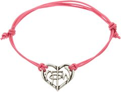 Not of This World Christian Heart Bracelet