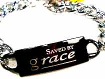Saved by Grace Link Bracelet