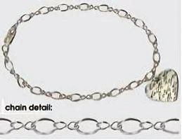 Faith Hope Love Sterling Silver Heart Bracelet