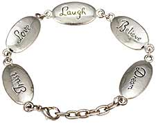 8326 Trust Love Laugh Believe Dream Bracelet
