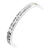 If You Have Faith Mustard Seed Bracelet