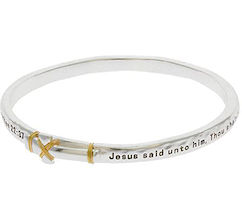 Matthew 22:37 Cross Bracelet
